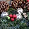 Ornaments in a mall in Sedona.